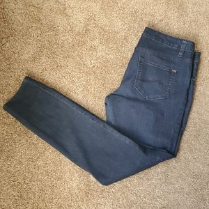 MAX Jeans dark wash stretch straight leg